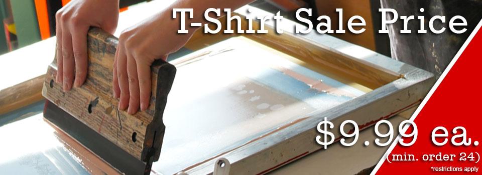 Custom T-shirt Sale!
